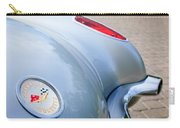1960 Chevrolet Corvette Emblem - Taillight Carry-all Pouch by Jill Reger