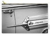 1960 Chevrolet Impala Emblem -340bw Carry-all Pouch