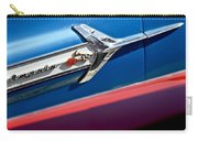 1960 Chevrolet Impala Emblem 7 Carry-all Pouch by Jill Reger