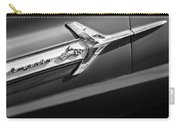 1960 Chevrolet Impala Side Emblem Carry-all Pouch