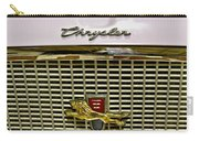 1960 Chrysler Windsor Hood Grill Carry-all Pouch