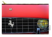 1960 Ferrari 250 Gt Cabriolet Pininfarina Series II Grille Emblem Carry-all Pouch