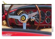1960 Ferrari 250 Gt Cabriolet Pininfarina Series II Steering Wheel Emblem Carry-all Pouch by Jill Reger