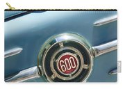 1960 Fiat 600 Jolly Emblem Carry-all Pouch