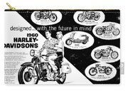 1960 Harley Davidson  Carry-all Pouch
