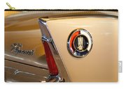 1960 Plymouth Fury Convertible Taillight And Emblem Carry-all Pouch
