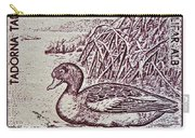 1960 Romanian Common Shelduck Stamp Carry-all Pouch