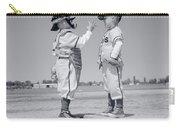 1960s Boy Little Leaguer Pitcher Carry-all Pouch