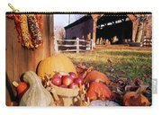 1960s Harvest Display Of Pumpkins Carry-all Pouch