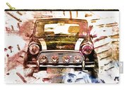 1960s Mini Cooper Carry-all Pouch by David Ridley