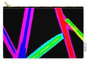 1960s Neon Carry-all Pouch