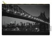 1960s Queensboro Bridge And Manhattan Carry-all Pouch