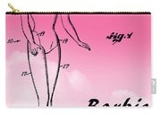 1961 Barbie Doll Patent Art 2 Carry-all Pouch