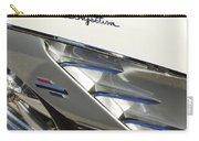 1961 Chevrolet Corvette Side Emblem 3 Carry-all Pouch