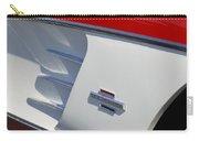 1961 Chevrolet Corvette Side Emblem Carry-all Pouch
