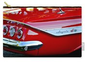 1961 Chevrolet Impala Taillight Emblem Carry-all Pouch