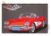 1961 Corvette Convertible Carry-all Pouch