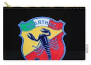 1961 Fiat-abarth 1000 Bialbero Gt Competition Coupe Emblem Carry-all Pouch