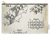 1961 Lego Patent Carry-all Pouch