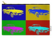 1962 Chevrolet Corvette Convertible Pop Art Carry-all Pouch