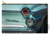 1962 Dodge Dart Taillight Carry-all Pouch
