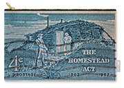 1962 Homestead Act Stamp Carry-all Pouch
