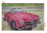 1962 Mercedes Benz 190sl Carry-all Pouch