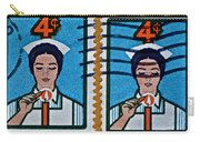 1962 Nursing Stamp Collage Carry-all Pouch