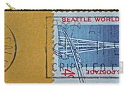 1962 Seattle World's Fair Stamp Carry-all Pouch