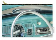 1962 Volkswagen Vw Beetle Cabriolet Steering Wheel Carry-all Pouch