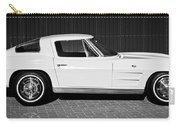 1963 Chevrolet Corvette Split Window -575bw Carry-all Pouch