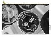 1963 Chevrolet Corvette Split Window Steering Wheel Emblem -170bw Carry-all Pouch