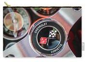 1963 Chevrolet Corvette Split Window Steering Wheel Emblem -170c Carry-all Pouch