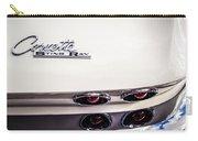 1963 Chevrolet Corvette Split Window Taillight Emblem -458c Carry-all Pouch