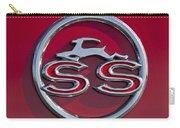 1963 Chevrolet Impala Ss Emblem Carry-all Pouch