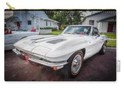 1963 Chevy Corvette Coupe Painted  Carry-all Pouch