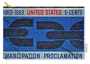 1963 Emancipation Proclamation Stamp Carry-all Pouch
