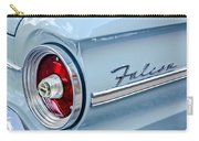 1963 Ford Falcon Futura Convertible Taillight Emblem Carry-all Pouch by Jill Reger