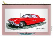 1963 Ford Thunderbird Carry-all Pouch by Jack Pumphrey