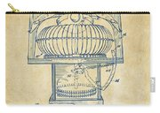 1963 Jukebox Patent Artwork - Vintage Carry-all Pouch