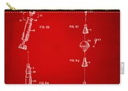 1963 Space Capsule Patent Red Carry-all Pouch