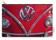 1964 Volkswagen Vw Double Cab Emblem Carry-all Pouch