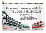 1965 - Rambler - Ambassador - American - Automobile Advertisement - Color Carry-all Pouch