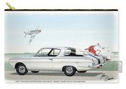 1965 Barracuda  Classic Plymouth Muscle Car Carry-all Pouch