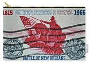 1965 Battle Of New Orleans Stamp Carry-all Pouch