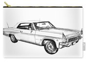 1965 Chevy Impala 327 Convertible Illuistration Carry-all Pouch