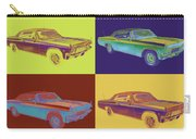 1965 Chevy Impala 327 Convertible Pop Art Carry-all Pouch