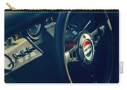 1965 Ford Gt 40 Steering Wheel Emblem Carry-all Pouch