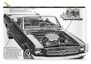 1965 Ford Mustang Performance Kits Carry-all Pouch