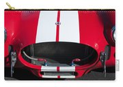 1965 Shelby Cobra Front Grille - Emblem Carry-all Pouch